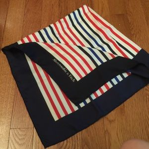 Abercrombie & Fitch striped scarf